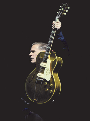 Bryan Adams on stage